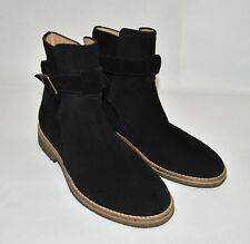 Represent Clo Strapped Boots Sz 7 US Suede Black Onyx Made in Italy MSRP $325