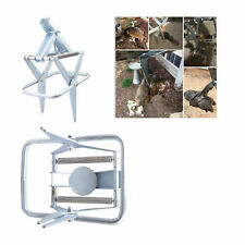 Galvanized Reusable Mouse Trap Easy Set High Sensitive Gopher Catcher Control