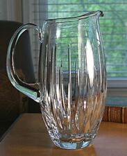 Reed & Barton Lead Crystal SOHO 64 oz Clear Glass Water Pitcher