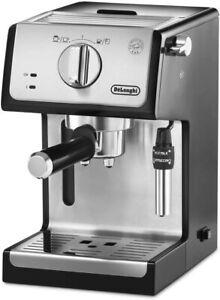 De'longhi Cafetera de Bomba Tradicional Espresso y Cappuccino Molido y Monodosis