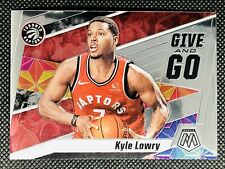 2019-20 Panini Mosaic GIVE AND GO No. 13 Kyle Lowry