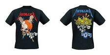 METALLICA Damage Inc Tour T-SHIRT (2-sided, All Size) OFFICIAL Master Of Puppets