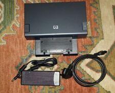 HP Compaq HSTNN-IX02 Advanced Docking Station EN489AA & Power adapter/charger