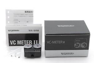 [Top MINT IN BOX] Voigtlander VC Meter II Black for Leica M3 M2 etc From JAPAN