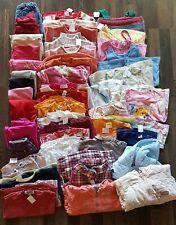 Großes Bekleidungspaket 46 Teile Mädchen Shirts Hosen Jacken Pullover Größe 80