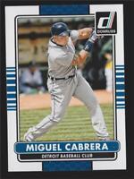 2015 Donruss #87A Miguel Cabrera - NM-MT