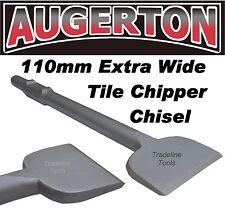 Jack Hammer EXTRA WIDE Chisel TILE CHIPPER Jackhammer chisel 110 Wide-  AUGERTON