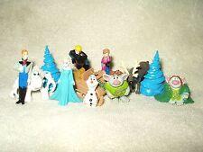 12 x Disney Cake Toppers Mini Figures Disney Frozen 2 inch