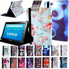 Leather Stand Cover Case For Lenovo Tab M8 M10 P10  E7 E8 E10 Tablet