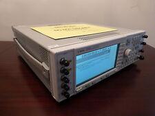 Agilent E4438C 6 GHz Vector Signal Generator w/ Opts 506,602,UN7,UNB,UNJ,SP1,etc