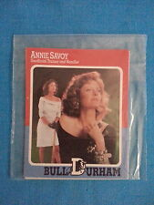 "BULL  DURHAM         ""4  CARD  PROMO  SET""   COSTNER, SARANDON.....1988"