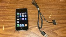 Apple iPhone 3G - 16GB - Black (AT&T) works Great - Power Button doesn't work