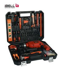 650W Professional Tool Kit (Pack of 115) Drill Machine Set with Multi Drills Bit