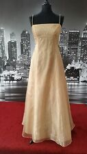 Stunning Sequinned Dress (Gold -Size 12-14) Prom, Ball, Pageant, Bridesmaid etc