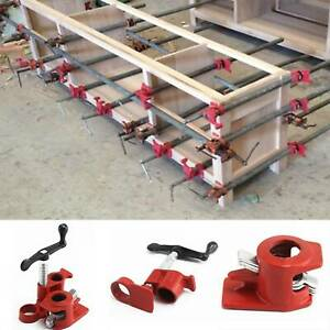 3/4'' Professional Wood Gluing Pipe Clamp Woodworking Cast Iron Heavy Duty UK