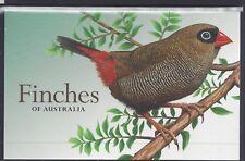 Australia 2018 Finches series 2 Mini Sheet & Stamp Set Presentation Pack