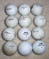 1 dozen mixed lot Used Golf Balls Callaway Nike Pinnacle Slazenger Titleist