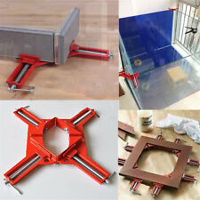 90°Degree Right Angle Picture Frame Corner Clamp Holder Woodworking Hand Kit POP