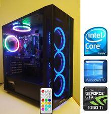 Gaming PC Desktop Intel Core i5 3.8GHz/GTX 1050Ti 4GB DDR5/WiFi/RGB LED