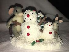 """Charming Tails """"Just The Right Size"""" Dean Griff Snowman"""
