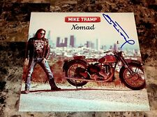 Mike Tramp Rare Hand Signed Limited Edition Nomad Vinyl LP Record White Lion +