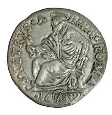 4efb1b47ff STATO PONTIFICIO - URBANO VIII - Testone anno 1632 - San Pietro