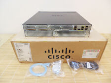 NEU Cisco 2951/K9 Gigabit Router ISR2, BASE License, 3x Gbit ports NEW OPEN BOX