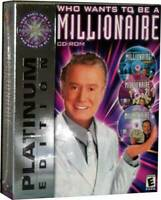 Who Wants To Be A Millionaire Platinum Edition - PC/Mac - Video Game - VERY GOOD