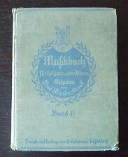 Musikbuch für höhere und mittlere Schulen Band  2 von Paul Manderscheid