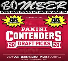 Miami Dolphins 2020 Panini Contenders Draft Picks Football 6 Box Break 1