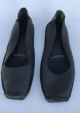 Women's Clarks Soul Of South Africa Black Shoes Loafers Flats Handmade Sz 8 NEW