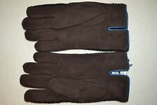 "Paul Smith PS Suede Wool Gloves ""L"" Mens Brand New"