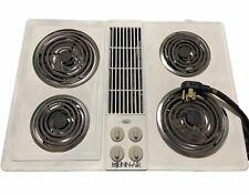 """Jenn Air 30"""" Inch Electric Downdraft Cooktop Jenn-Air Stove Top Cook 4 Burner"""