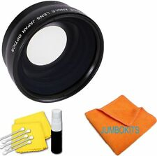 HD Super Wide Angle 58mm Macro Lens for Canon EOS Rebel T3 T3i No Distortion