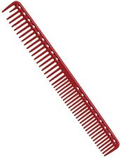YS Park 333 Round Tooth Extra Long Cutting Comb In RED From Japan 100% Genuine