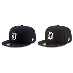 Detroit Tigers DET MLB Authentic New Era 59FIFTY Fitted Cap - 5950 Hat
