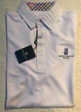 Bugatchi Mens White Polo ShirtThe Ritz-Carlton Naples NWT