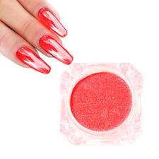 Mirror Black Red Nail Powder Nails Art Chrome Pigment Glitters Dust DIY Art Tips