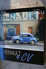 """Buch """"Icons Renault 4 CV"""" mit Hino 4 CV von Philippe Billon (ungelesen)"""