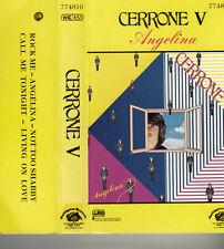 "K 7 AUDIO (TAPE)  CERRONE  ""CERRONE V / ANGELINA"""