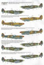 Xtradecal X32042 1:32 Supermarine Spitfire Mk.Vb late - 6 Markings Options