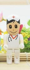 1pc 32GB White Doctor Medic Surgeon Nurse EMT USB Flash Thumb Drive USA Shipper
