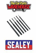 Sealey S0800 Chrome Vanadium steel Parallel Pin Punch Set 6pc