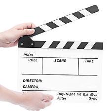 """Neewer Acrylic Plastic 10x12""""/25x30cm Dry Erase Film Clapboard Clapper Board"""