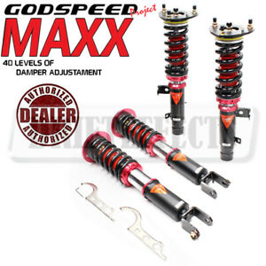 Godspeed MMX2540-A MAXX Damper Coilovers Strut Kit Set For Honda Accord 2013-17