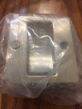 Prime-Line Pocket Door Mortise Pull Satin Nickel Finish Solid Brass Carded