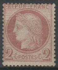 """FRANCE STAMP TIMBRE 51 """" CERES 2c ROUGE-BRUN 1872 """" NEUF xx A VOIR   N493"""