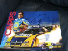 Ron Capps Pro Driver Autographed Photo