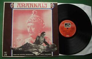 Anarkali from OST C. Ramchandra ft Lata Mangeshkar HMV EALP 4021 Hindi LP