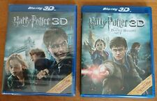Harry Potter and the Deathly Hallows: Part I & II (3D, Blu-ray, 2010/2011)